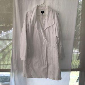 Eileen Fisher white jacket